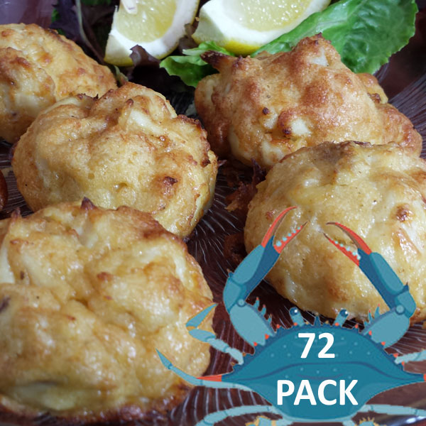 Jumbo Lump Crab Balls 72 Pack @$55 per dozen