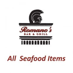 All Seafood Items